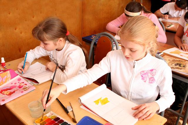 Рисунок на уроках изо в школе